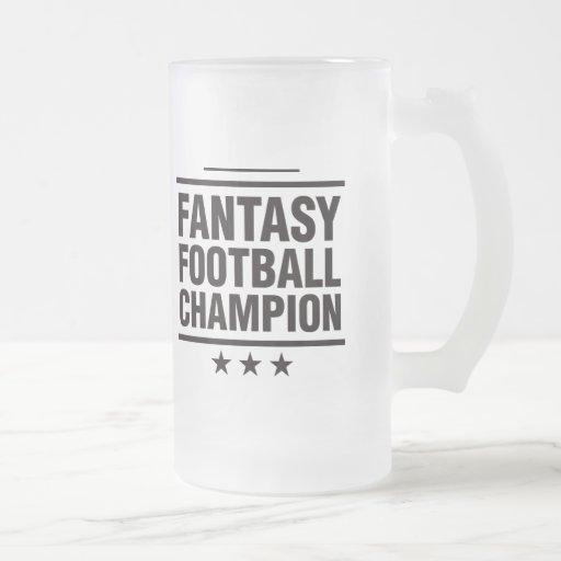 Fantasy Football Champion! Coffee Mug