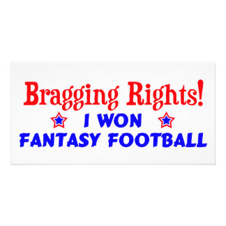 Fantasy Football Champion Photo Cards