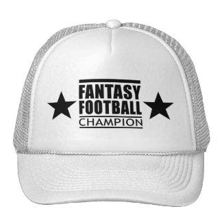 Fantasy Football Champion Stars Hat