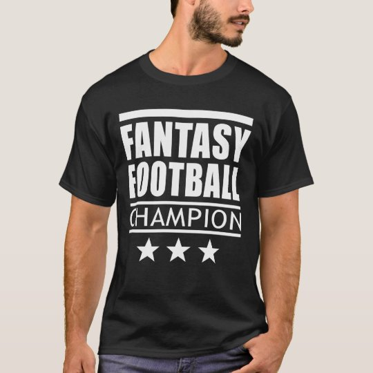 Fantasy Football Champion Stars T-Shirt