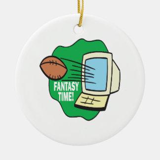 Fantasy Football Christmas Ornament