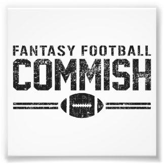 Fantasy Football Commish Art Photo
