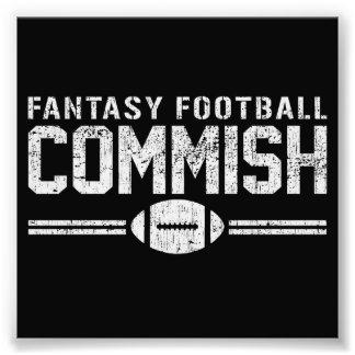 Fantasy Football Commish Photo Art