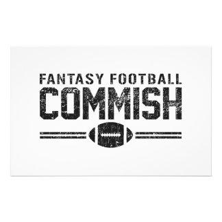 Fantasy Football Commish Stationery