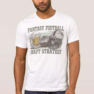 Fantasy Football Draft Strategy T-Shirt