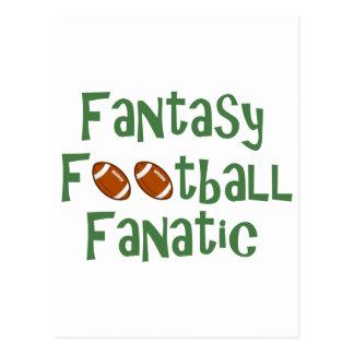 Fantasy Football Fanatic Postcard