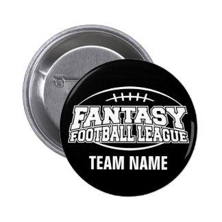 Fantasy Football FFL Custom Gift 6 Cm Round Badge