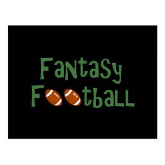 Fantasy Football Gear Postcard