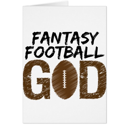 fantasy football god card