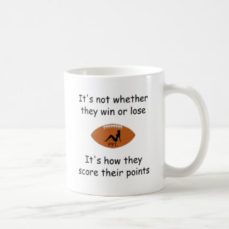 Fantasy Football - It's How They Score Silhouette Coffee Mug