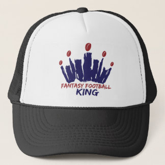 Fantasy Football King Trucker Hat