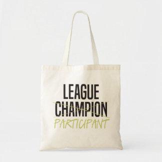 Fantasy Football League Participant Budget Tote Bag