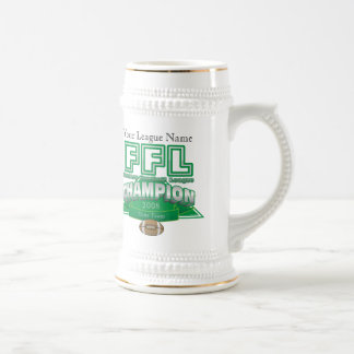 Fantasy Football League Trophy - Customised Beer Stein