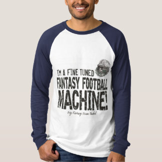 Fantasy Football Machine Gear T-Shirt