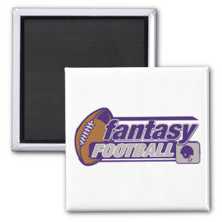 Fantasy Football Square Magnet