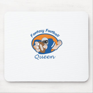 FANTASY FOOTBALL QUEEN MOUSE PAD