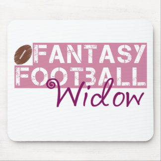 fantasy football widow mouse pad