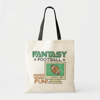 Fantasy Football Work Canvas Bags