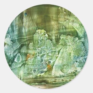 Fantasy Forest 2 Round Sticker