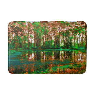 Fantasy Forest by Shirley Taylor Bath Mats