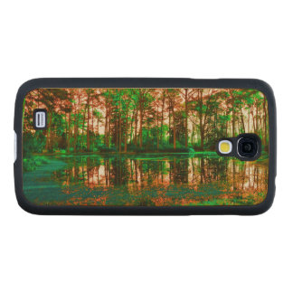 Fantasy Forest Carved® Maple Galaxy S4 Case