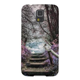 Fantasy Forest Steps Galaxy S5 Case