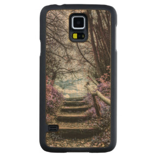 Fantasy Forest Steps Maple Galaxy S5 Case