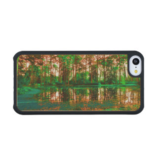 Fantasy Forest Carved® Maple iPhone 5C Slim Case