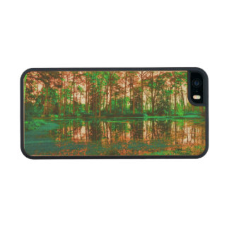 Fantasy Forest Carved® Maple iPhone 5 Case
