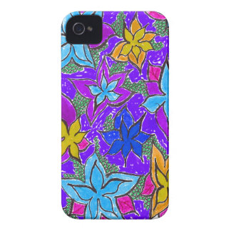 Fantasy Fun Floral iPhone 4 Cover