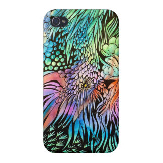 Fantasy Garden 38l Case For The iPhone 4