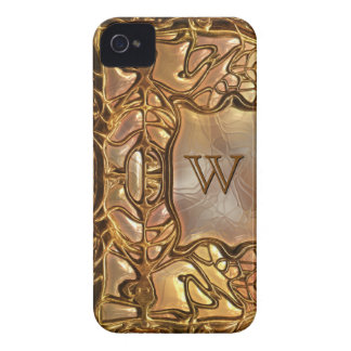 Fantasy Glass Gold 2 iPhone 4 Covers