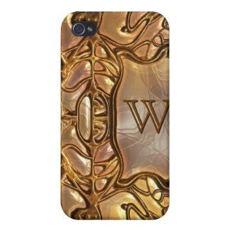 Fantasy Glass Gold 2 iPhone 4/4S Cases