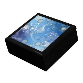 Fantasy Glass Music Notes Gift Box