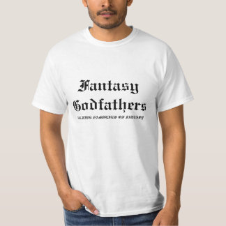 Fantasy Godfathers, THE FIVE FAMILIES OF FANTASY T-Shirt