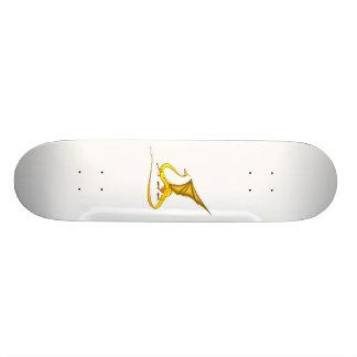 Fantasy Golden Dragon Skateboard Decks
