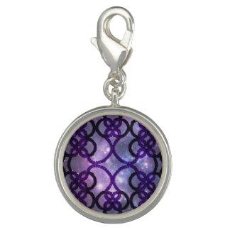 Fantasy Goth Purple Tatting Lace Coasmos Bracelets