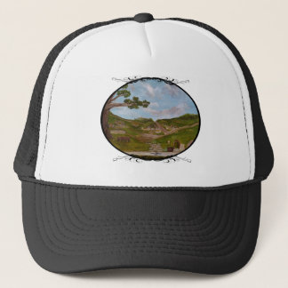 Fantasy Halfling Village Trucker Hat