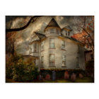Fantasy - Haunted - The Caretakers House Postcard