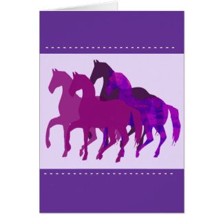 Fantasy Horse Racing Card