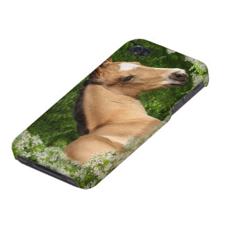 Fantasy Horses: Flowers iPhone 4 Covers