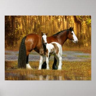 Fantasy Horses: Mare & Foal Poster