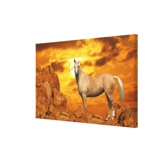Fantasy Horses: Mountain Canvas Print