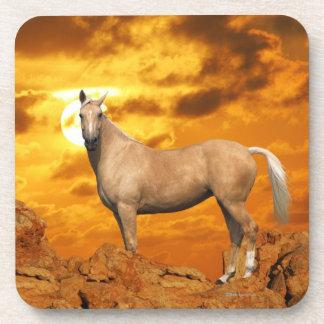 Fantasy Horses: Mountain Drink Coasters