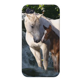 Fantasy Horses: Waterfall iPhone 4/4S Case
