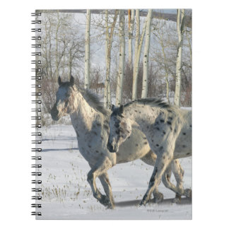 Fantasy Horses: Winter Wonderland Notebook