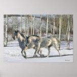 Fantasy Horses: Winter Wonderland Print