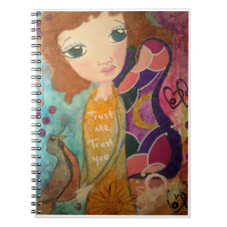 Fantasy image Trust fairy notebook