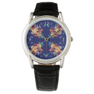 Fantasy kaleidoscope pattern watch