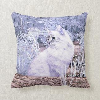 Fantasy kitty cat cushion